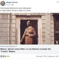 Matteo Salvini replica su Facebook: