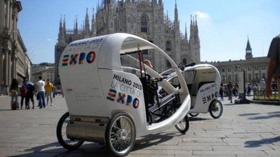 Milano come Pechino, parte la sperimentazione dei risciò per i turisti