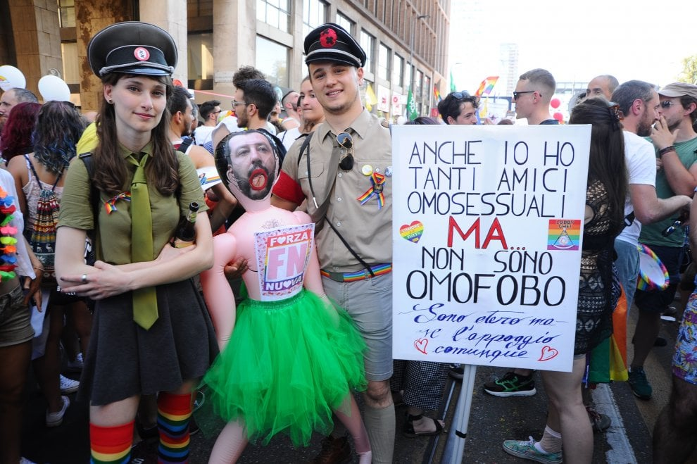 forza nuova omosessuali Bisceglie