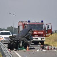 Incidente mortale nel Bergamasco: camion contro due auto