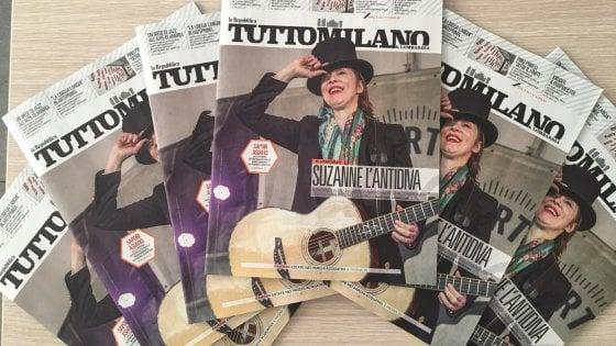 Tuttomilano in edicola giovedì, biglietti omaggio per Suzanne Vega