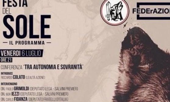 """Raduno neonazista di Abbiategrasso, Liliana Segre: """"Inaccettabile e offensivo"""""""