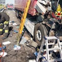 Incidente sulla A4: tre feriti, traffico bloccato per ore tra Arluno e la barriera Ghisolfa