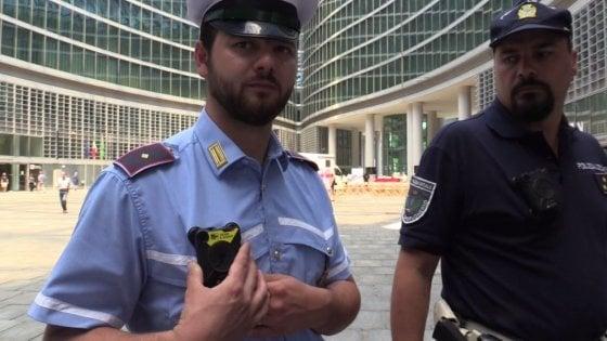 """Sicurezza: dalla Regione 300mila euro per le """"bodycam"""" in dotazione ai vigili urbani"""