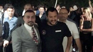 Il ministro Salvini all'Old Fashion chiuso dal questore dopo le coltellate a Bettarini