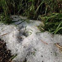 Maltempo a Mantova e nel Bresciano: i danni di grandine e tromba d'aria