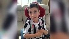 """""""Cristiano Ronaldo alla Juve"""": la gioia di Luca commuove il web    Video"""