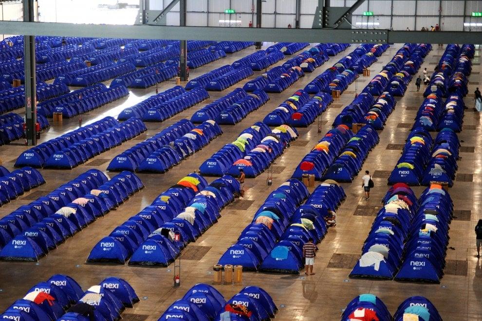 Milano, un accampamento da 4mila tende per i giovani digitali a Campus Party