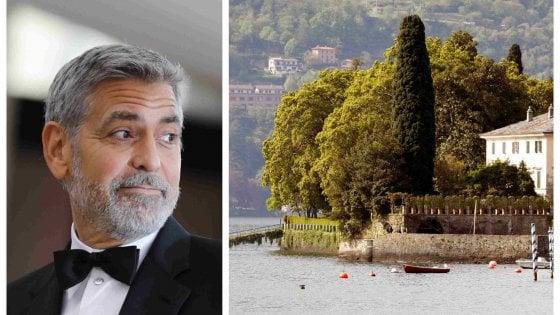 """Vacanze a prova di paparazzi per George  Clooney: """"Nien"""