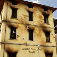 Fumo e colombi in fuga, il murale rievoca l'incendio contro i partigiani della Valle Camonica