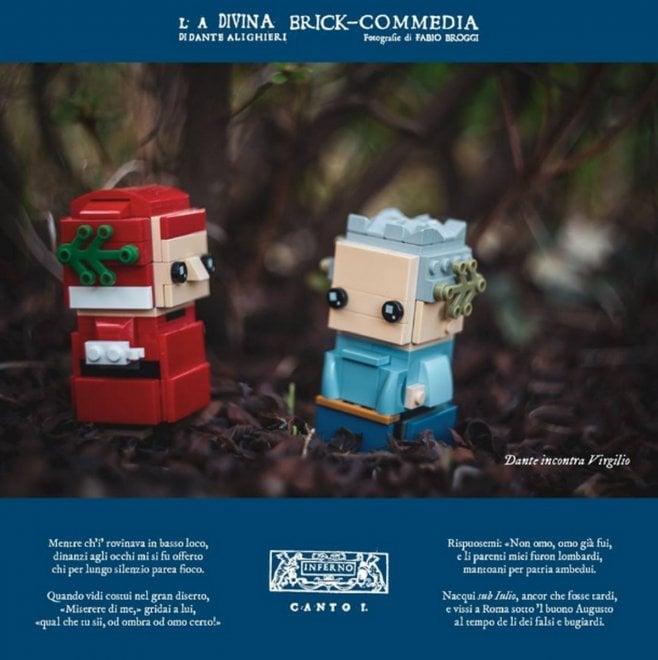 La Divina Brick-Commedia, l'Inferno di Dante con i mattoncini della Lego