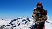 L'estate dei cani alpinisti    anche il pastore    australiano Sky conquista    i 4mila del Breithorn