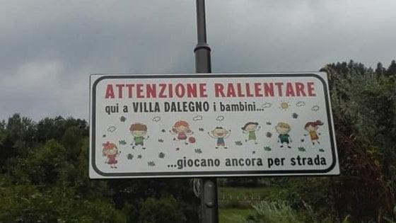 """""""Rallentare, in questo comune i bimbi giocano ancora per strada"""": in Val Camonica vincono i piccoli"""