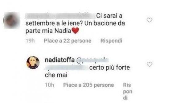 """Nadia Toffa: """"Torno alle Iene più forte che mai"""""""