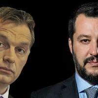 Milano, incontro Salvini-Orban, la protesta naviga sui social