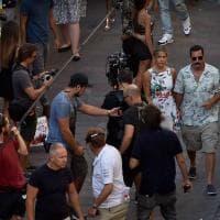 Il Grand Prix di Monaco trasloca a Milano: è il set del nuovo film di Jennifer Aniston