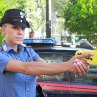 Milano, per i carabinieri del Radiomobile debutta il Taser