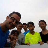 Bergamo: la favola di Luigi, da universitario a maestro di calcio in Cina