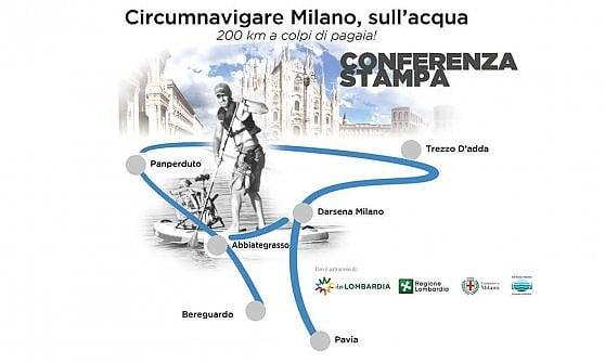 A colpi di pagaia per circumnavigare Milano sulle acque dei Navigli