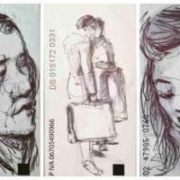 Milano, ritratti metropolitani sui biglietti del bus: la mostra alla Biblioteca Venezia