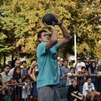 Milano, Gallinari inaugura il playground riqualificato in largo Marinai d'Italia