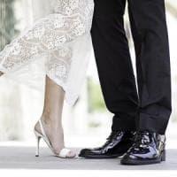 Sposo perfetto anche se lei è più alta