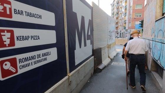 Milano, il Comune stanzia un milione di nuovi contributi per negozi e imprese nelle aree della M4
