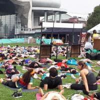 """Corsa, yoga e meditazione: a Citylife il """"triathlon della mente"""""""