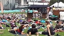 Corsa, yoga e tanta meditazione: a Citylife    il fenomeno Wanderlust,    il triathlon della mente