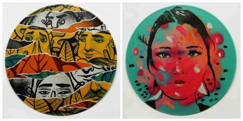 Milano: alla mostra-mercato i dischi in vinile si trasformano in opere d'arte