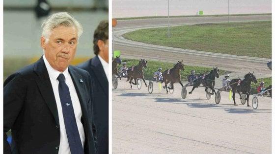 Carlo Ancelotti si regala un cavallo: comprato a Milano Black Mirror