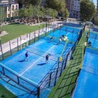 A Milano il padel si gioca tra i grattacieli di Citylife