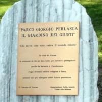 Varese, rubata dal Giardino dei Giusti la targa di Giorgio Perlasca