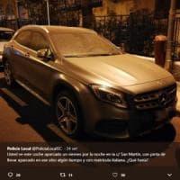 Mercedes rubata a Bergamo ricompare a Tenerife: l'appello della polizia