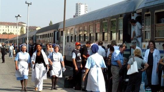 """I treni per Lourdes ai pendolari lombardi? Pellegrini in allarme: """"Non sopprimete quel servizio"""""""
