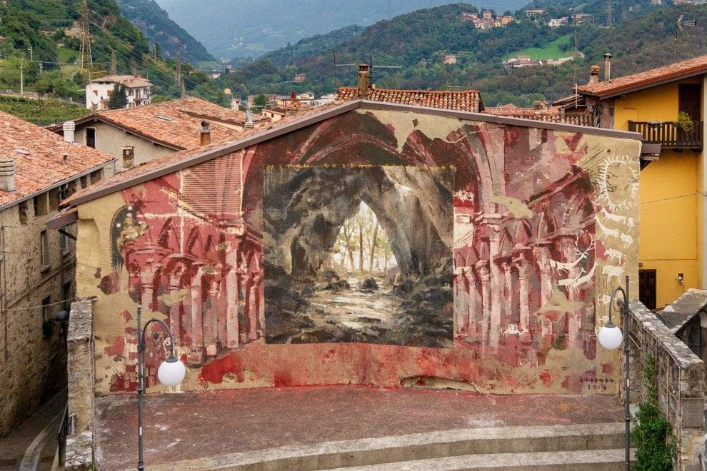 Le opere della street art conquistano la Val Camonica