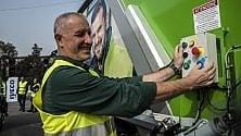 Amsa, 43 automezzi  green per la raccolta  differenziata