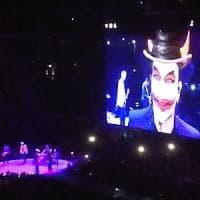 Milano, Bono in concerto: