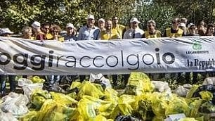 """""""#Oggiraccolgoio, via  i rifiuti dai nostri parchi"""":  tutti in strada, puliamo noi"""