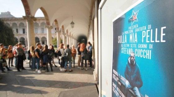 Caso Cucchi, mille studenti in coda alla Statale di Milano p