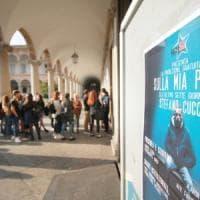 Caso Cucchi, mille studenti in coda alla Statale di Milano per vedere il