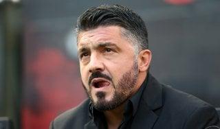 Milan, Gattuso: ''Zero paura e tanto coraggio per vincere il derby''