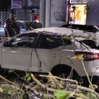 Maltempo a Milano, il forte vento abbatte alberi: l'intervento dei vigili del fuoco