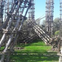 Lodi, semidistrutta dal vento la Cattedrale vegetale: ecco com'è ridotta