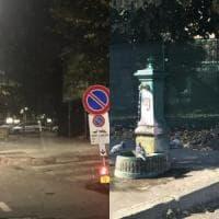Milano, municipio leghista rimuove la fontanella della mensa dei poveri: