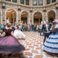 Milano, alle Gallerie d'Italia il flash mob del Romanticismo