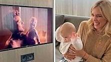 Casa Ferragnez: Fedez canta, Leo si vede in tv e si scatena -  Video