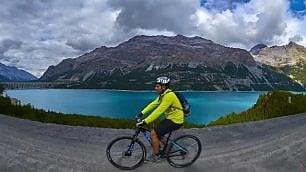 Un anno di lavoro, 114  km in bici: il Sentiero  Valtellina in hyperlapse