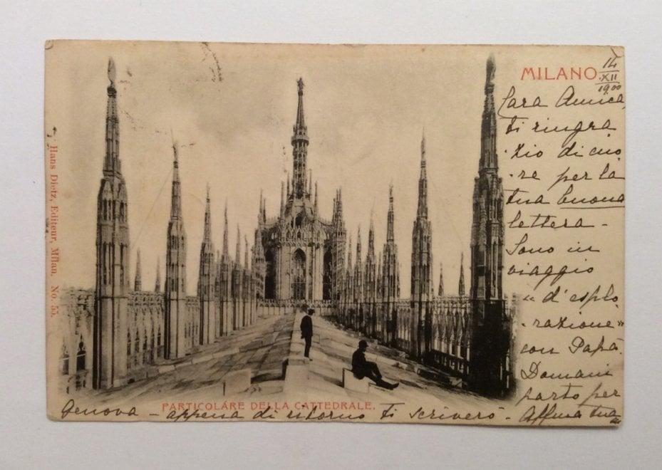 """""""Cara amica ti scrivo"""", cartoline dalla Milano di fine Ottocento"""