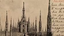 """""""Cara amica ti scrivo""""  cartoline dalla Milano  di fine Ottocento"""